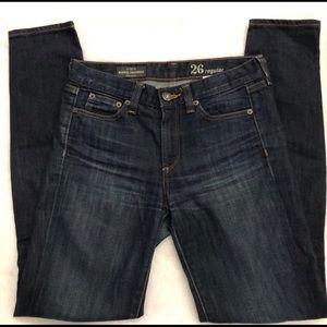 J.Crew Midrise Toothpick Skinny Jeans